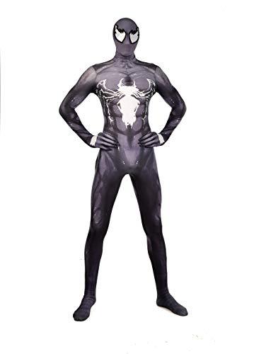 an Kostüm Halloween Cosplay Siamese Enge Erwachsene Erwachsene Kleidung Thema Party Movie Requisiten,Black-L ()
