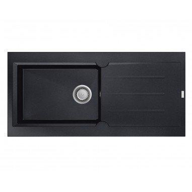 Einbauspüle OMEGA 1 XL Becken - Farbe - Schwarz