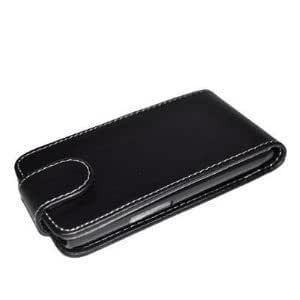Accessory Master - Housse en cuir pour Samsung Galaxy S3 Mini - Noir