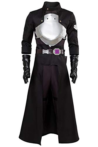 SAO Sword Art Online Fatal Bullet Kirito Kirigaya Kazuto Outfit Cosplay Kostüm Herren ()