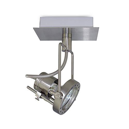 LED Deckenleuchte Lampe Strahler Wandleuchte Wandlampe Deckenlampe Wandstrahler Deckenstrahler (1 Flammig) -