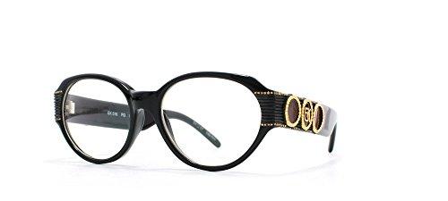 Emmanuelle Khanh Damen Brillengestell Schwarz schwarz