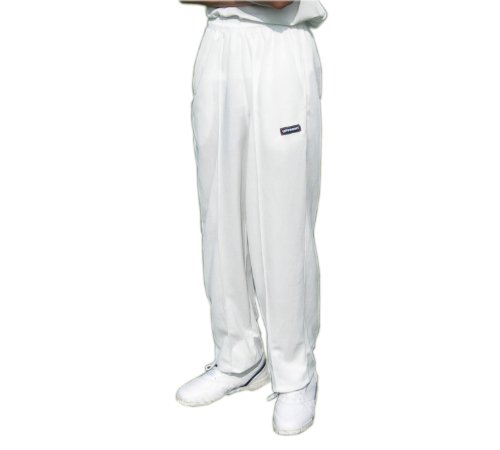 Upfront Opttiuuq Qvu Cricket Trousers JUNIORS With Open Hem Test