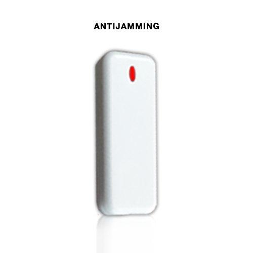 ANTIFURTO ALLARME WIRELESS 433 Mhz DOPPIO COMBINATORE GSM PSTN SENZA FILI – GESTIBILE DA APP – MENU E MANUALE IN ITALIANO serie A1