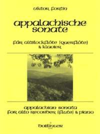 ?APPALACHIAN SONATA? SCORE FOR ALTO RECORDER AND PIANO BY VIKTOR FORTIN