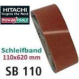 Die besten Hitachi Schleifmaschinen - Hitachi 753285 Schleifpapier für Schleifmaschinen, 110 x 620 Bewertungen