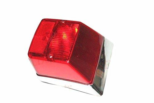 Enfield County - Luce posteriore per Vespa PX PE 150 LML NV Stella con bordo cromato