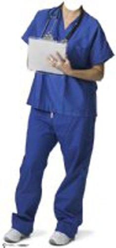 Pappaufsteller Krankenpfleger Couple 'Stand In' Standup Figur Kinoaufsteller Pappfigur Cardboard Lebensgroß Life-Size Standup