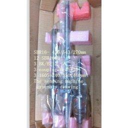GOWE ballscrews RM 1605-240 3/3/350 460 mm SBR16-435/543/270 mm binari 3sets BK/Innesto BF12 3 attacchi per X Y Z cnc