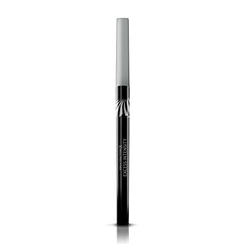 Max Factor Excess Intensity Longwear Eyeliner Silver - Wasserfester Eyeliner zum Drehen - Für den perfekten Lidstrich - Farbe Silber - 1 x 2 g