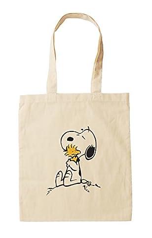 Snoopy und Woodstock, das, natürliche Baumwolle Snoopy