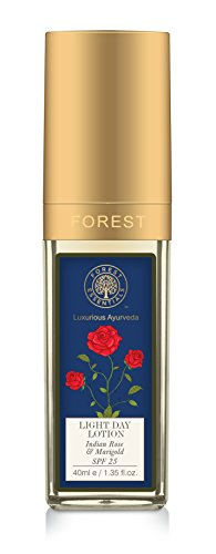 Forest Essentials Light Day Indian Rose and Marigold SPF25 Lotion, 40ml