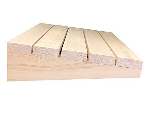 Preisvergleich Produktbild SudoreWell® Sauna Kopfstütze Exklusiv aus Pinienholz