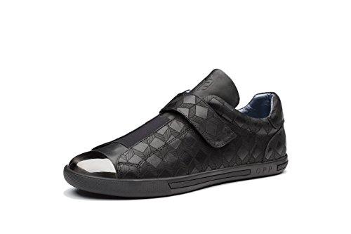 OPP Homme Low-Top Chaussures en Cuir de Ville