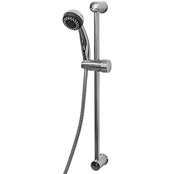 brausegarnitur duschkopf halter schieber gleiter brausehalter wandstange duschstange. Black Bedroom Furniture Sets. Home Design Ideas