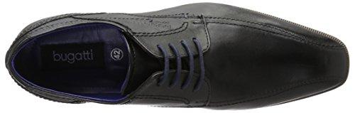 Bugatti 311189021000, Derby Homme Noir (Schwarz 1000)