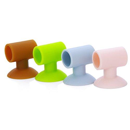 2 x Baby Sicherheits-Saugnapf für Rücktür, Tür, Tür, Schutz-Pad, Schutz-Pad, Wandsticker, Farbe zufällig, Wie abgebildet, 2 pcs