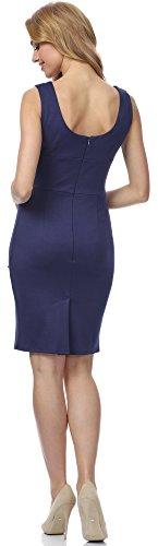 Merry Style Damen Kleid MSSE0017 Navyblau