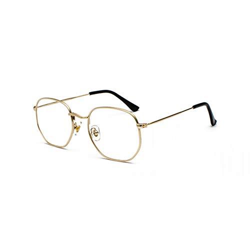 Kjwsbb Gold Quadrat Sonnenbrille Für Frauen Schwarz Silber Spiegel Sonnenbrille Für Männer Kleines Gesicht Uv400 Metallrahmen