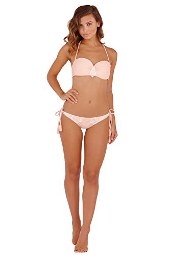 Boutique Damen Neckholder Bikini-Set orange Orange 36 Gr. 38, Aztec Peach - Orange (Aztec Sun-bikini)