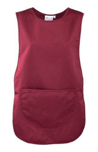 Premier Damen Arbeitsschürze mit Tasche (Small) (Burgunder)