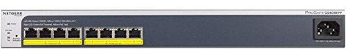 Netgear GS408EPP-100NES Switch Smart Managed Plus...