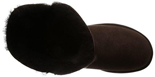 Ugg Bailey Button 5803, Stivali Donna Chocolate