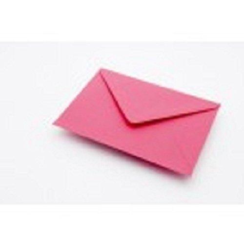 20 x Hot Fuchsia Pink C7 klein A7 Karten Umschläge (RSVP)