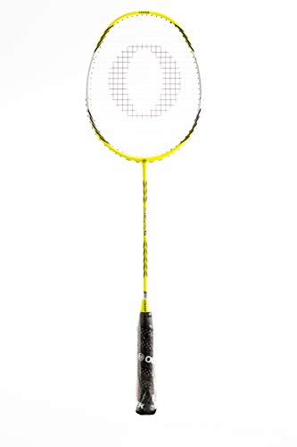 Oliver Badminton Schläger Delta 5 für Angriffsspieler mit Profibesaitung