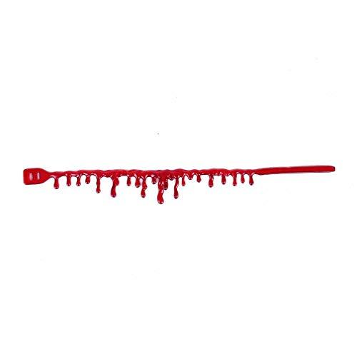 Xuxuou Chocker Blut Halskette Blutstropfen Kette Blutige Kette -