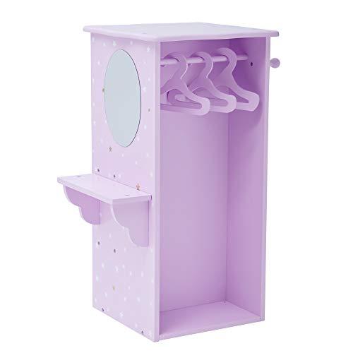 d TD-0094AP Puppen-Kleiderschrank, violett ()