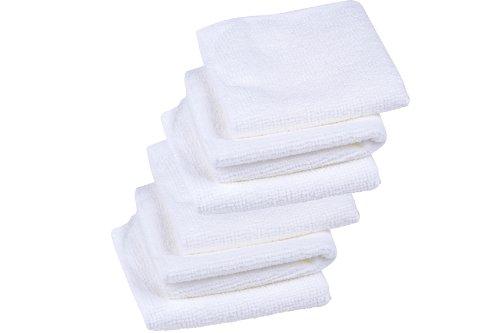 Microfaser Gesichtsreinigungstücher - 6er Set - für empfindliche Haut - sanfte porentiefe Reinigung