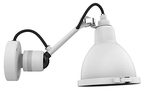 DCW éditions - Lampe Gras N°304 Bathroom CL I Wandleuchte - polycarbonat - Gestell weiß - Bernard-Albin Gras