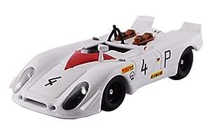 Best- Porsche 908/02 FLUNDER-Nurburgring 1000 Km. 1969-Stommelen/Herrmann-R.R. 2nd. -#4 Modelo, Color Blanco, BEST9754