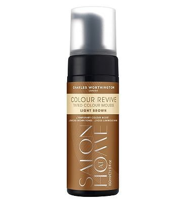 Charles Worthington Colour Revive Mousse, Light Brown by Charles Worthington