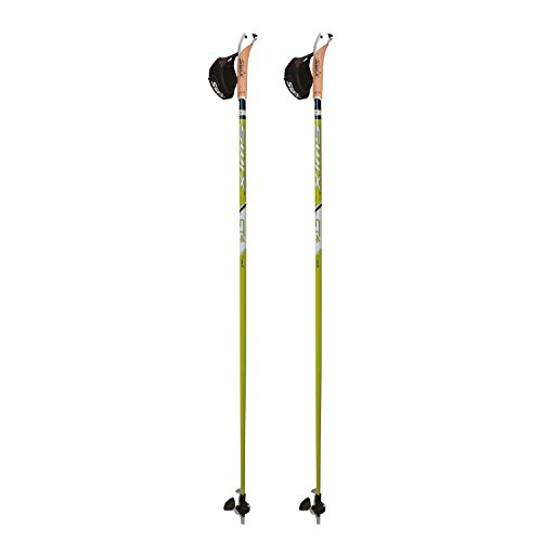 Swix CT4 Nordic Walking Stock Lime Composite Premium mit Twist & Go Spitze 1 Paar