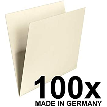 Reiter recycelt Manila, 170 g//m/², Folio-Format braun 100090124 Elba Economy Einstellmappe 100 St/ück