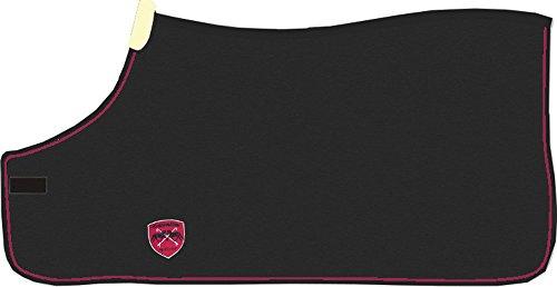Cavallo Abschwitzdecke Wolle ELAINE (black-ruby, 125 cm / 5´6)