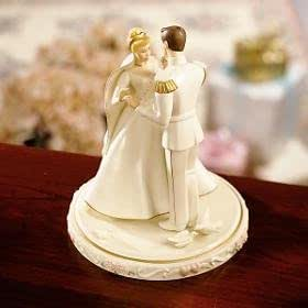 Lenox Figurine Disney-Cendrillon s Cake Toppers Décoration pour gâteau de mariage
