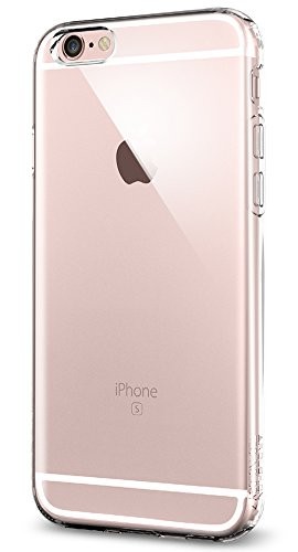 Price comparison product image iPhone 6s Case,  Spigen® [Liquid Air] Flexible Soft TPU [Crystal Clear] Premium Clear iphone 6 case cover / SOFT-FLEX Extra Grip Case iPhone 6 / 6s Cover for iPhone 6 (2014) / 6s (2015) - Crystal Clear (SGP11753)