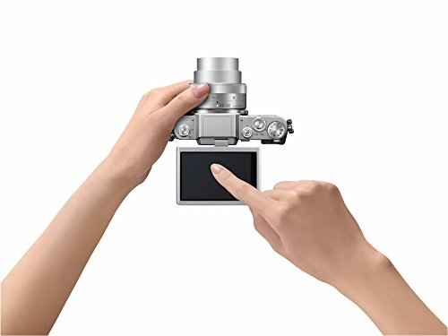 Panasonic LUMIX G DMC-GF7KEG-S Systemkamera (16 Megapixel, High-Speed Autofokus, 3 Zoll Touch-Display, WiFi und NFC) mit Objektiv H-FS12032E schwarz/silber - 6