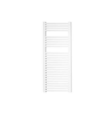 Cicsa Radiador toallero Zeta T Acero Blanco 800 x 500 mm