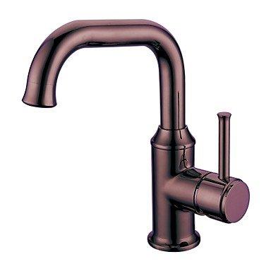 JIAHENGY Waschbeckenmischer Wasserhahn Mischbatterie armatur Personalisierte Fashion Trend Mono mit Rose gold Finish WC Küche Badezimmer
