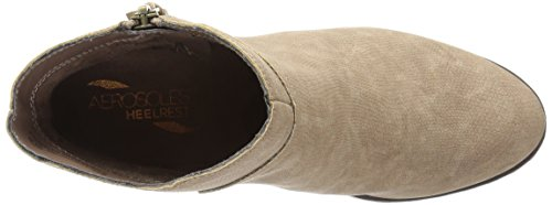Aerosoles Convincing Large Synthétique Bottine Taupe Snake 772