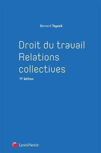 Droit du travail - Relations collectives