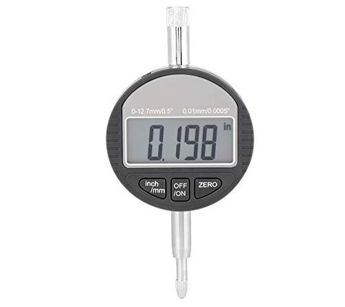 """HYCy DTI Digitaler Messanzeiger, 0,01 mm / 0,0005""""Digitaler Messfühlerindikator Test Testbereich 0-12,7 mm / 0,5"""" Test Test Indikatoren Elektronische Anzeige"""