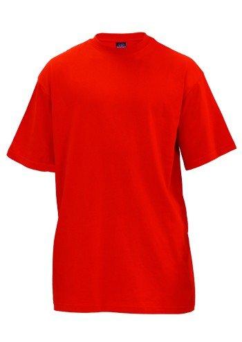 Urban Classics TB006 Herren T-Shirt Tall Tee | Oversize Shirt Red