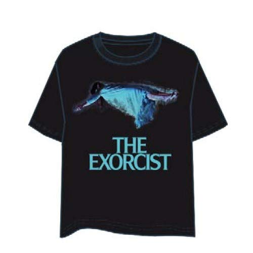 LAST LEVEL Camiseta el Exorcista XL Camisa Cami, Multicolor, Adultos Unisex