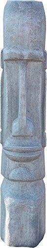 Isola di pasqua figura, moai , statua decorativa giardino,giardino scultura,100 cm