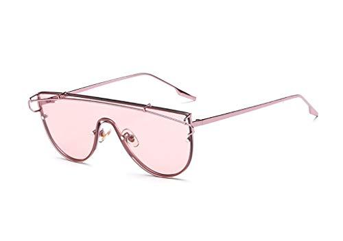 KISlink Sonnenbrillen Sonnenbrillen Herren Retro Conjoined Lens Sonnenbrillen Damen Brillen (Farbe: B)